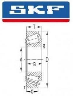 LM11749/710/QVC027 SKF