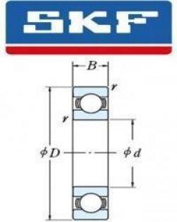 6201-Z/C3 SKF