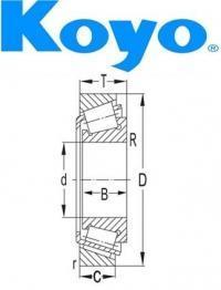 RCT473SA Koyo